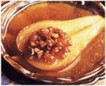 Butter-baked Pears With Fruit And Nut Stuffing